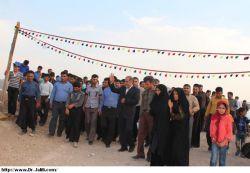 دیداردکترجلیلی با اهالی روستاهای بخش آبژدان (شهرک شهید اسدپور)