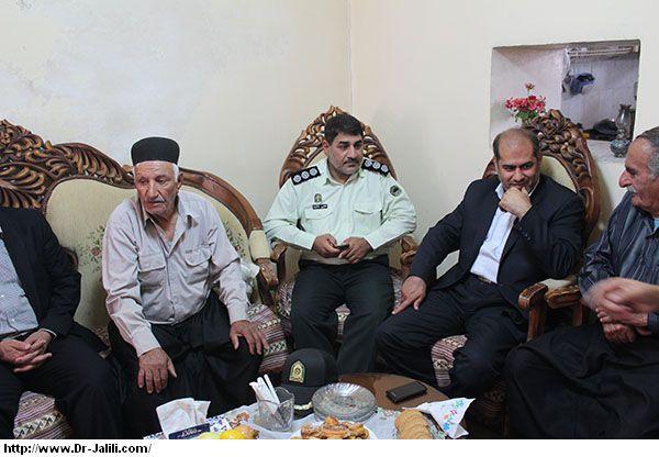 دیدار دکترجلیلی نماینده مردم در مجلس شورا ی اسلامی با خانواده های شهدا اندیکا