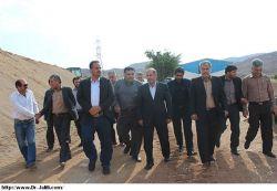 بازدید دکتر جلیلی از روستاهای منطقه جریک وپروژه راه ارتباطی مسجدسلیمان به ایذه