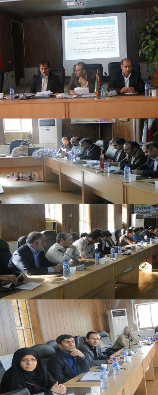 جلسه شورای آموزش وپرورش مسجدسلیمان با حضوردکترجلیلی