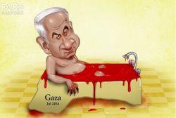 انشاءالله در حمامی كه خودشون از خون مردم بیچاره غزه راه انداختن، غرق بشن.الهی آمین