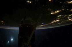 'Good Morning From the International Space Station' image