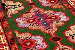 فرشی از جنس گل