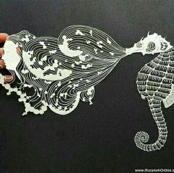 هنرنمایی با کاغذ♡♡