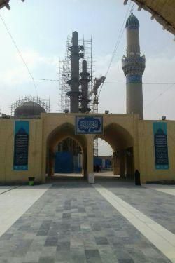 مسجد سهله دارن یه چیزی درست میکنن که....ماه اینجا مقامات امام سجاد و مهدی(ع) و بسیاری از پیامبران و یه مقام برای هم هست که همه پیامبران در آن سخنرانی کردند.