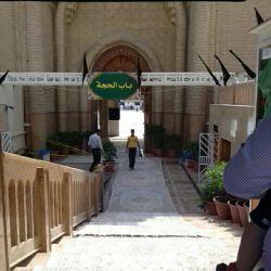 یکی از در های ورودی مسجد کوفه