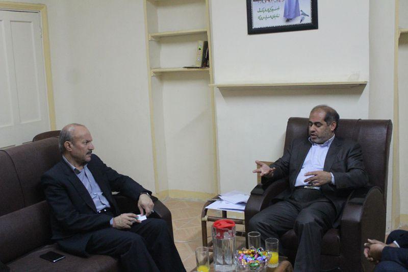 شهردار مسجدسلیمان با دکترجلیلی نماینده مردم در مجلس شورای اسلامی دیدار و گفتگو کرد