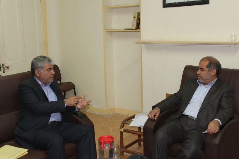 دیدار فرمانداراندیکا با دکترجلیلی نماینده مردم در مجلس شورای اسلامی