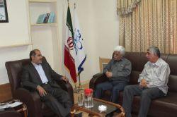 دیداراعضای تعاونی مسکن اصناف مسجدسلیمان با دکترجلیلی