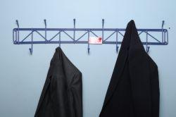 جالباسی دیواری فلزی فیروزه قابل استفاده در کلاس های درس و دفاتر کار و شبستان مساجد