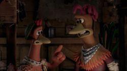 نمایی از فیلم «فرار مرغی» اثر پیتر لورد