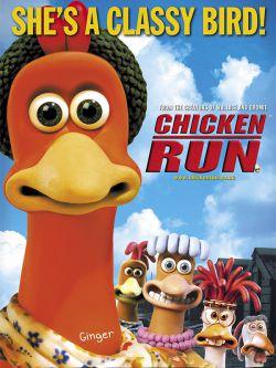 نمایی از پوستر فیلم «فرار مرغی» اثر پیتر لورد