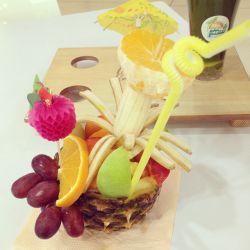 كوكتل میوه هاوایی #بزن