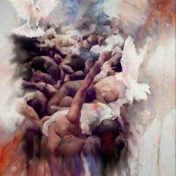 جدید ترین تابلو نقاشی یک شیعه عربستانی