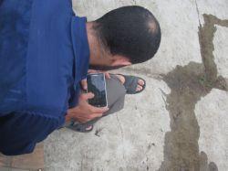 یک عدد برادر جهادی! اردوی جهادی-مرداد1394 منطقه جنت رودبار. گروه جهادی منتظران ظهور. بسیج دانشجویی دانشگاه پیام نور رامسر. حوزه شهید سیاوش رحیمی.