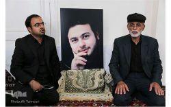پدر و برادر در سوگ حاجمحسن...