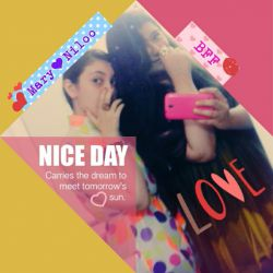 She's.... my SISTER❤ My Other Half My bestFriend..... ❤^__^❤