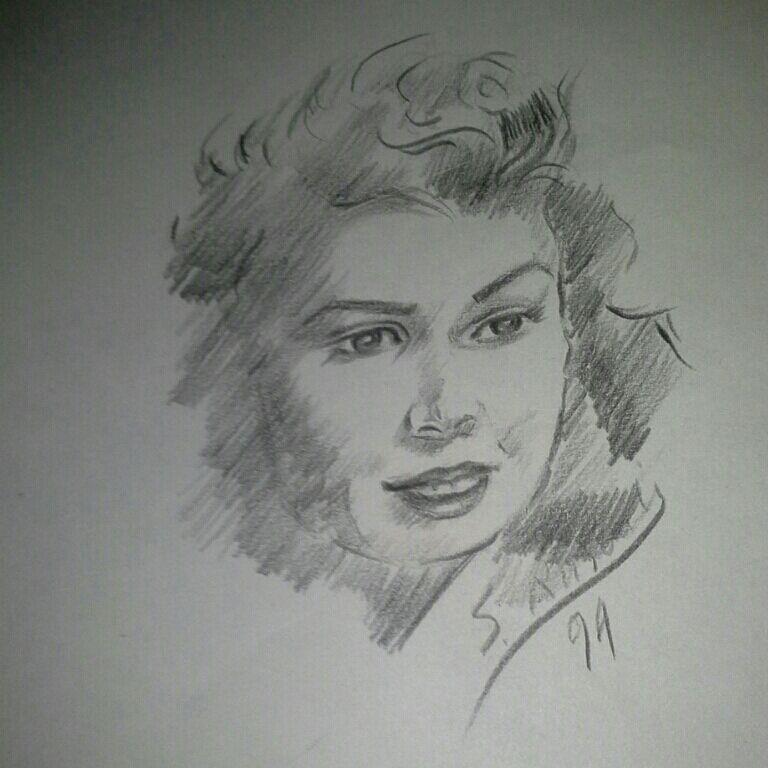 نقاشی من همین الان یهویی