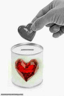 دل من صندوق صدقات نیست که گاهی سکه ای محبت رادرون ان بیاندازی وپیش خدایت شاد باشی که مستحقی را کمک کرده ای