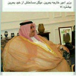 وزیر ده تنی بحرینی اگر ایشون داخل بحرین بادی خالی کنه کل ملت بحرین مسموم می شوند بلانسبت شنونده ها