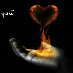 من با عشقم ب تکامل رسیدم ، جز جون خودم چیزی به عنوان هدیه براش ندارم ، دست  عشقمو میبوسم ، همین ،