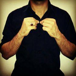 از امشب هرچی خلافه به عشق آقام حسین غلافه  باید لباس مشکی خود را به تن کنیم #محرم# #لبیک#یا#حسین#