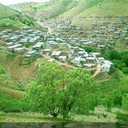 نمای از روستاهایه استان  کردستان