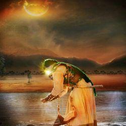 ما که از عشق حسین(ع) دم میزنیم  کوچه ها را رنگ ماتم میزنیم  پس چرا هر لحظه با رفتار خود  بر دل صاحب زمان(عج) غم میزنیم...