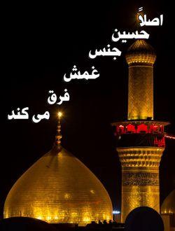 """بانو!  محرم است...  نمی گویم حسین را دوست بدار!  نه اصلا""""لا اکراه فی الدین""""  هیچ اجباری در دین نیست!  فقط به احترامش غلاف کن  شمشیر آرایشت را!!!"""