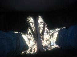 کفشم همین الان یهویی...