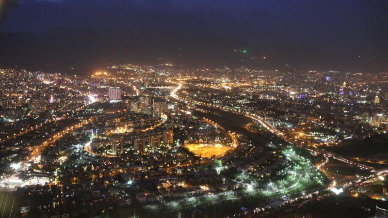 نمای شمال تهران از بالای برج میلاد