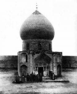 قدیمی ترین عکس حرم امام حسین(ع)