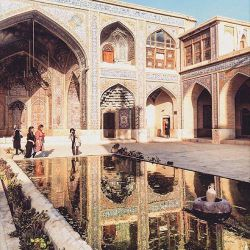 حیاط مسجد نصیرالملک...