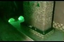 تصویر قبر مطهر حضرت عباس که اب با شرمندگی به دور ان میچرخد