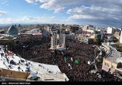 The mourning processions on the 8th day of Muharram in Iran's northern city of Zanjan, are one of the country's most famous mourning ceremonies for commemorating the martyrdom anniversary of Shiite Muslims' third Imam, Hussein Ibn Ali (PBUH).