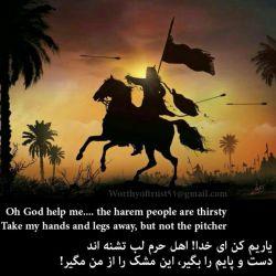 السلام و علیک یا ابوالفضل العباس