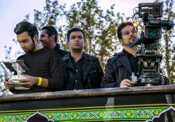 پشت صحنه تصویربرداری(هلی شات)مستند خادمان حسین
