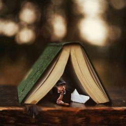 یک کتاب داستان برمیدارم،  همان که توღ برایـــــم خریده بودی ...  میخـــــوانم،  ورق میزنم ،  میخـــــوانم ،  ورق میزنم ،  شاید بفهمــــــــــم  من کجای قصــــــــــه ی توღ بودم ... !