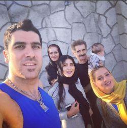 شهرام محمودی سوگند خورشیدی آرسام محمودی صدف خورشیدی و مامان و بابای سوگندجون