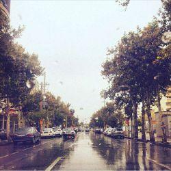 باران زیبای پاییزی :) امروز خیابان عفیف آباد