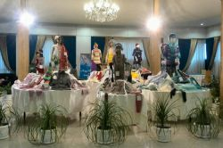 نمایشگاه کلاف دست بافت های زنان ایران مشهد میدان آزادی تالار رویال طلایی ۹تا ۱۸آبان ۹۴