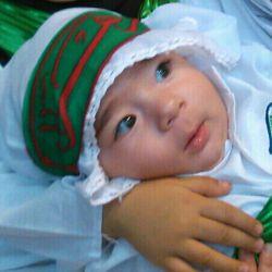 حنانه خانومم فدایی حضرت علی اصغر(ع)