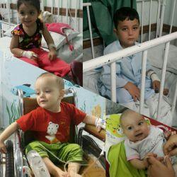 برای بیماران کوچولوی من دعا کنید...