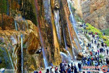آبشارمارگون شیراز