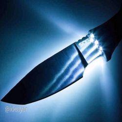 خلاقیت در ساخت چاقو #چاقوی چراغ دار #ایده های بیشتر كانال تلگرام ایده یار@ideayar