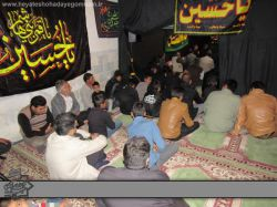 مراسم دهه دوم محرم 1394 هیئت شهدای گمنام مسجد حضرت فاطمه الزهرا (س)