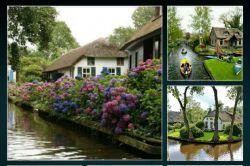 دهکدهای زیبا در هلند که حتی یک خیابان هم در آن نیستد . این دهکده رویایی هیچ خیابانی ندارد و تمام نقل و مکانها با قایق امکان پذیر میشود. بودن در چنین جایی واقعا آرامش بخش است.جامون خالی :-)