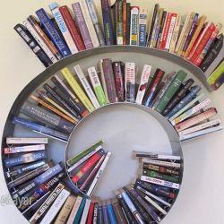 خلاقیت در ساخت قفسه #قفسه مخصوص كتاب #محصول جالب #ایده های بیشتر در كانال تلگرام ایده یار @ideayar