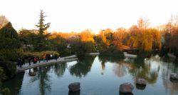 اصفهان باغ گلها - غروب دلنواز