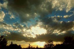 آسمان مشهد امروز 23 آبان سال 1394 بزرگراه امام علی (ع)